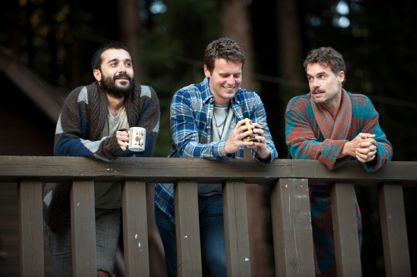 Jonathan Groff, Frankie J. Alvarez, Murray Bartlett. photo: Richard Foreman